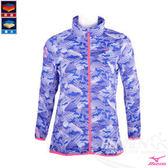 MIZUNO 美津濃 女路跑風衣(藍) 防風防潑水保暖 日本同步上市