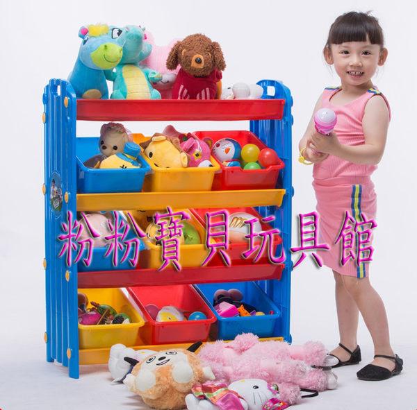 新款九格玩具收納架/收納櫃~ 升級版兒童玩具收納架~優質兒童傢俱*粉粉寶貝玩具*