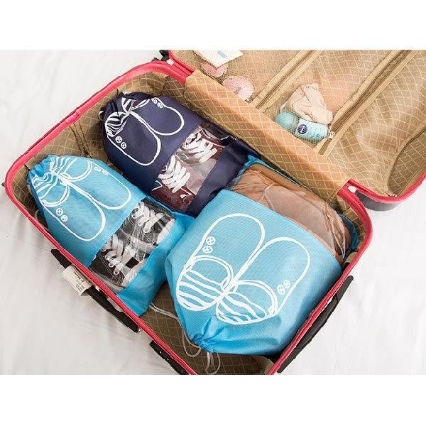 收納袋 旅行收納束口鞋袋44*32CM 鞋盒 【SPA014】123ok
