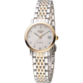LONGINES 浪琴優雅系列真鑽機械腕錶 L43095877