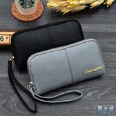 2019新款單拉鏈錢包女歐美大容量手拿包mm包潮手機包LR3986【野之旅】