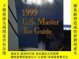 二手書博民逛書店1999罕見U.S. Master tax guideY1538