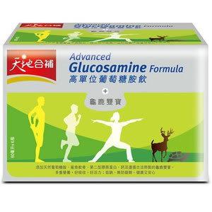 佳格 天地合補 高單位葡萄糖胺飲+龜鹿雙寶 60ml (6入)/盒