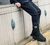 防水鞋套防雨鞋套防滑加厚耐磨底成人學生男女士戶外騎行摩托車下雨天防水 晴天時尚館