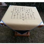 新品帶象棋盤棋譜的麻將墊子家用麻將布隔音台布帶兜贈大骰子【快速出貨全館八折】