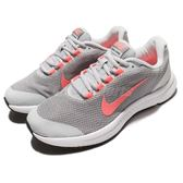 Nike 慢跑鞋 Wmns Runallday 灰 粉紅 白底 女鞋 運動鞋 透氣避震 【PUMP306】 898484-006