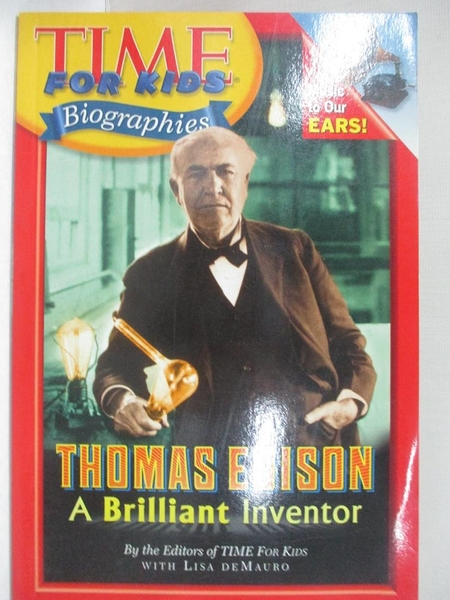 【書寶二手書T1/動植物_DMV】Thomas Edison: A Brilliant Inventor_Demauro, Lisa (EDT)