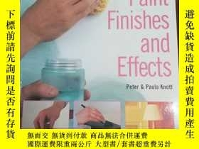 二手書博民逛書店Paint罕見and Paint Finishes (Hayne