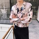 FINDSENSE 品牌 2019 春季新款 動漫 印花  個性 社會 男青年