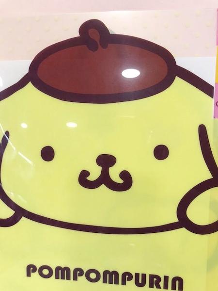 【震撼精品百貨】Pom Pom Purin 布丁狗~A4文件資料夾-屁股/分隔#45969