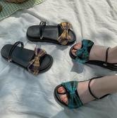 網紅兩穿涼鞋女仙女風夏新款舒適鬆糕厚底增高潮女鞋 - 歐美韓熱銷