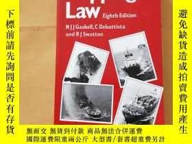 二手書博民逛書店Chorley罕見& Giles' Shipping Law(喬
