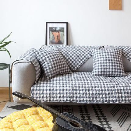 時尚簡約四季沙發巾 沙發墊防滑沙發套577 (70*150cm)