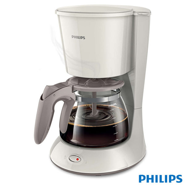 【飛利浦 PHILIPS】1.2L 滴漏式咖啡機-米白色 (HD7447)
