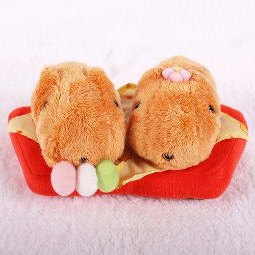 Kapibarasan 水豚君和果子系列公仔-雙胞胎