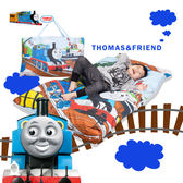 湯瑪士小火車 港口 兒童睡袋 標準 台灣製 超取限一顆
