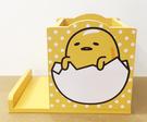 【震撼精品百貨】蛋黃哥Gudetama~蛋黃哥木製收納盒-筆筒(可放手機喔!!)#99051