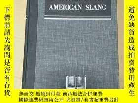 二手書博民逛書店dictionary罕見of amercican slang(美