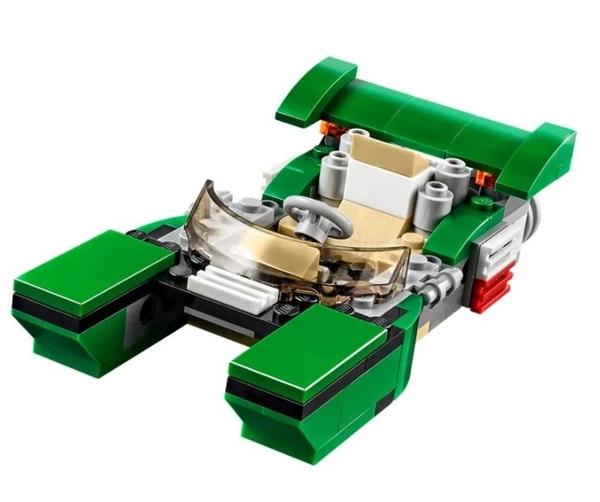 LEGO 樂高 VREATER 創意系列 Green Cruiser 綠色跑車 31056
