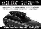  MyRack   【預購95折】Thule Vector Alpine 380L 亮黑 車頂行李箱 雙開 613501