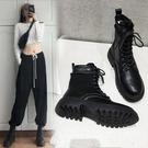 馬丁靴 女2021年新款百搭英倫風短靴子春秋單靴爆款網紅內增高女鞋【新品狂歡】