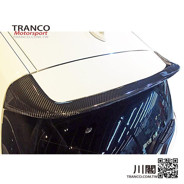 BMW F20 A款 碳纖維尾翼 TRANCO 川閣