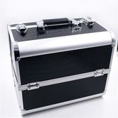 32cm大號專業手提化妝箱包美甲紋繡收納盒箱多層大容量帶鎖促銷igo 衣櫥の秘密