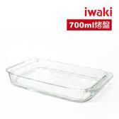 iwaki 玻璃微波烤箱盤 700ml
