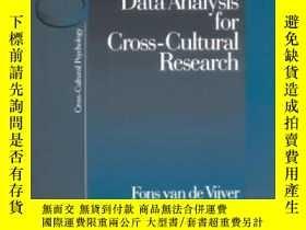 二手書博民逛書店Methods罕見And Data Analysis For Cross-cultural Research-跨文
