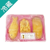 素三牲餅(鳳梨)550G/盒【愛買冷藏】