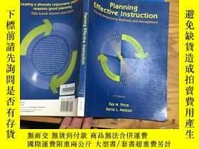 二手書博民逛書店planning罕見effective instrution diversity responsive metho