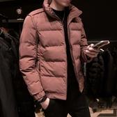 羽絨棉服冬季棉衣男士韓版修身加厚短款外套棉襖【左岸男裝】