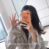 呆呆表情自拍蘋果iphone6/7/8/plus/x/xs/xr/max手機殼軟【小檸檬3C】