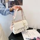 熱賣側背包 今年流行包包女2021新款潮時尚斜背包夏季百搭ins小眾側背腋下包 coco