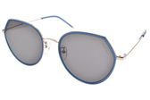 PAUL HUEMAN 太陽眼鏡 PHS907A 08 (藍金-灰鏡片) 韓系街頭潮流款 墨鏡 # 金橘眼鏡
