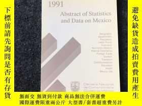 二手書博民逛書店Abstract罕見of Statistics and Data