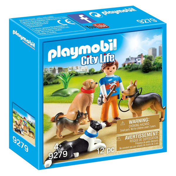 playmobil 城市 狗狗訓練師_PM09279