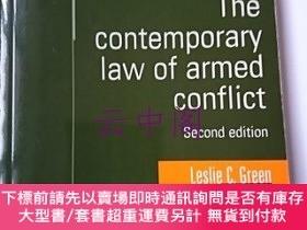 二手書博民逛書店The罕見contemporary law of armed conflict : Second edition奇