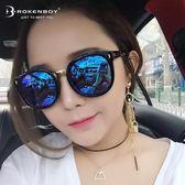 墨鏡女潮韓版偏光太陽鏡復古 防紫外線眼鏡