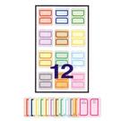 【奇奇文具】鶴屋 C2-12 粉彩可列印保護膜標籤