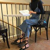 85折韓版春裝新款水洗牛仔背帶連體褲開學季