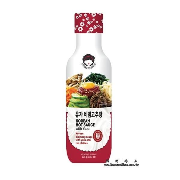 韓國阿珠嬤韓式柚子辣椒醬 烤肉醬 調味醬 沾醬(335g) 獨家配方 可製做涼拌或燒烤等不同料理