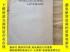二手書博民逛書店Intellectual罕見leverageY252403 Order from IEEE Computer