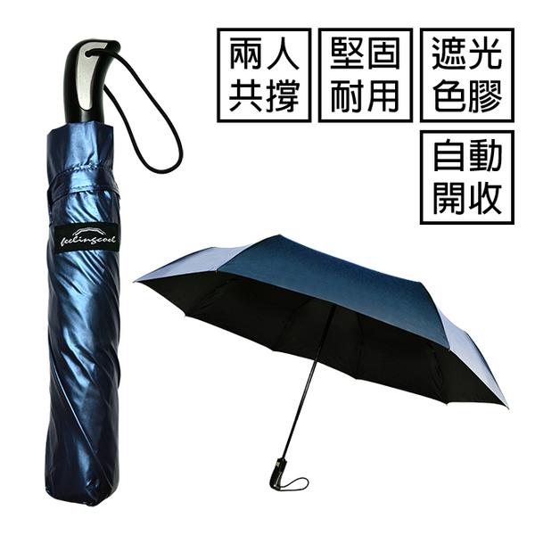 飛蘭蔻 3060 TOUGH色膠遮光布自動開收傘 1入