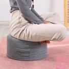 棉麻坐墊椅墊飄窗圓墊子榻榻米家用可坐地墊【匯美優品】