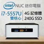 【南紡購物中心】Intel 小型系列【mini學步車】i7-5557U雙核 迷你電腦(4G/240G SSD)