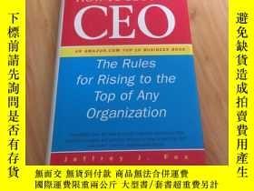 二手書博民逛書店How罕見to Become CEO    The Rules