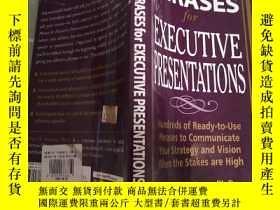 二手書博民逛書店Perfect罕見Phrases for Executive P