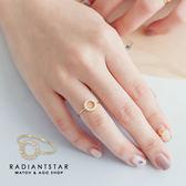 [925純銀] 時尚周兜圈點鑽戒指【SL289】璀璨之星☆
