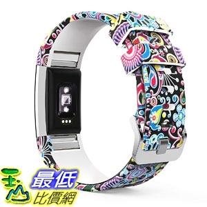 [7美國直購] 運動錶帶 MoKo Fitbit Charge 2 Band, Soft Silicone Adjustable Replacement Sport Strap Band